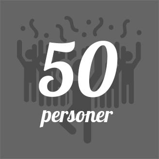 GrillSlagteren - 50 personer