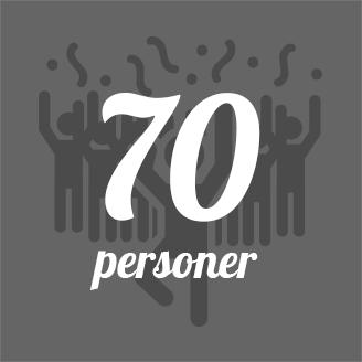 GrillSlagteren - 70 personer