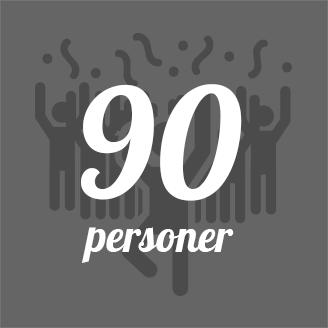 GrillSlagteren - 90 personer